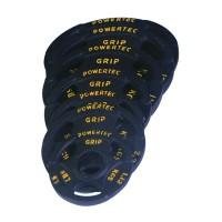Набор олимпийских дисков Powertec 50мм 115,68 кг (255LBS) (6 коробов)